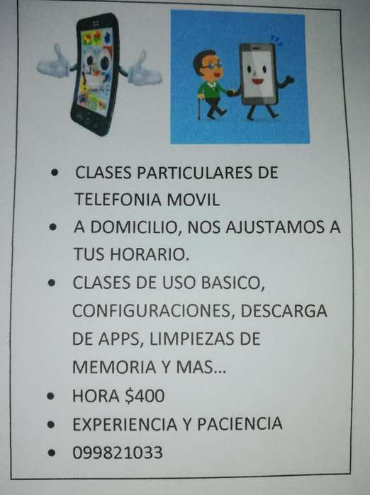 Clases Particulares O Grupales