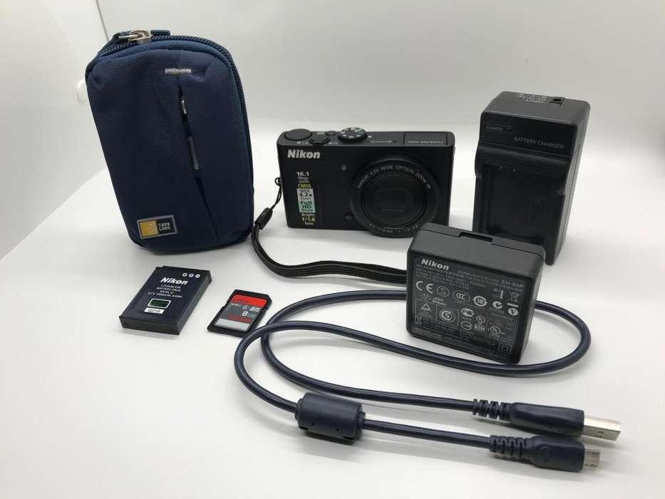 Camara Semi Profesional Nikon Coolpix P310 Case Logic