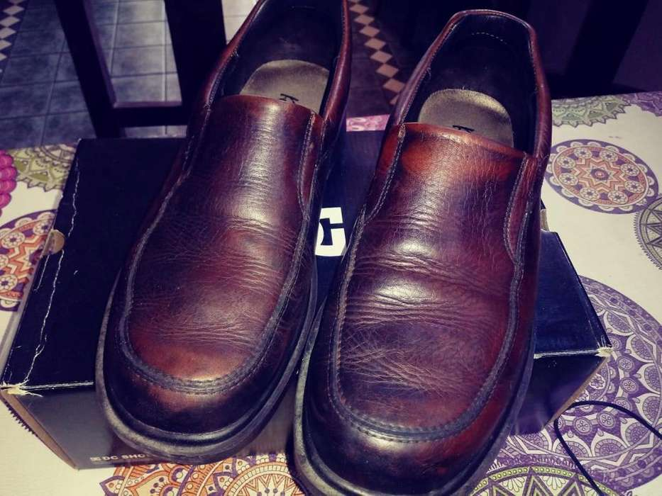 <strong>zapatos</strong> de cuero nro 43 marca roble excelente estado suela de goma