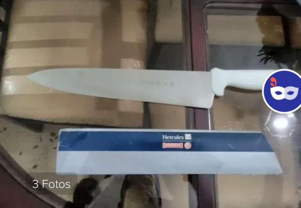 Cuchillo 8 Pulgadas Mundial