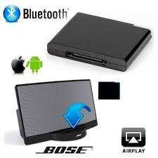 Adaptador Receptor Bluetooth Dispositivos 30 Pin Bose Negro