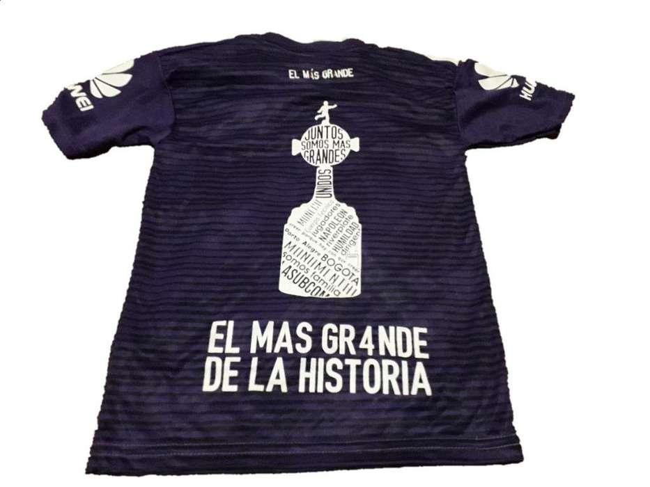 Camiseta River Violeta Copa Libertadores