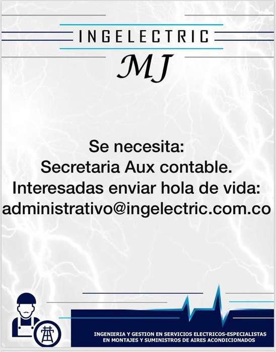 Se Necesita Secretaria