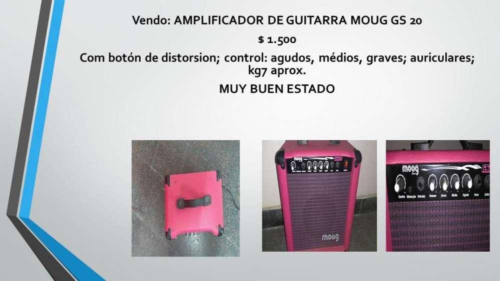 Vendo: AMPLIFICADOR DE GUITARRA MOUG GS 20
