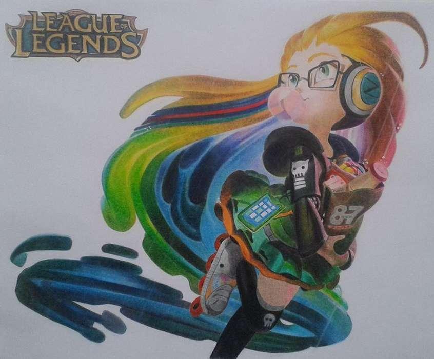 Dibujos Leauge of Legennds