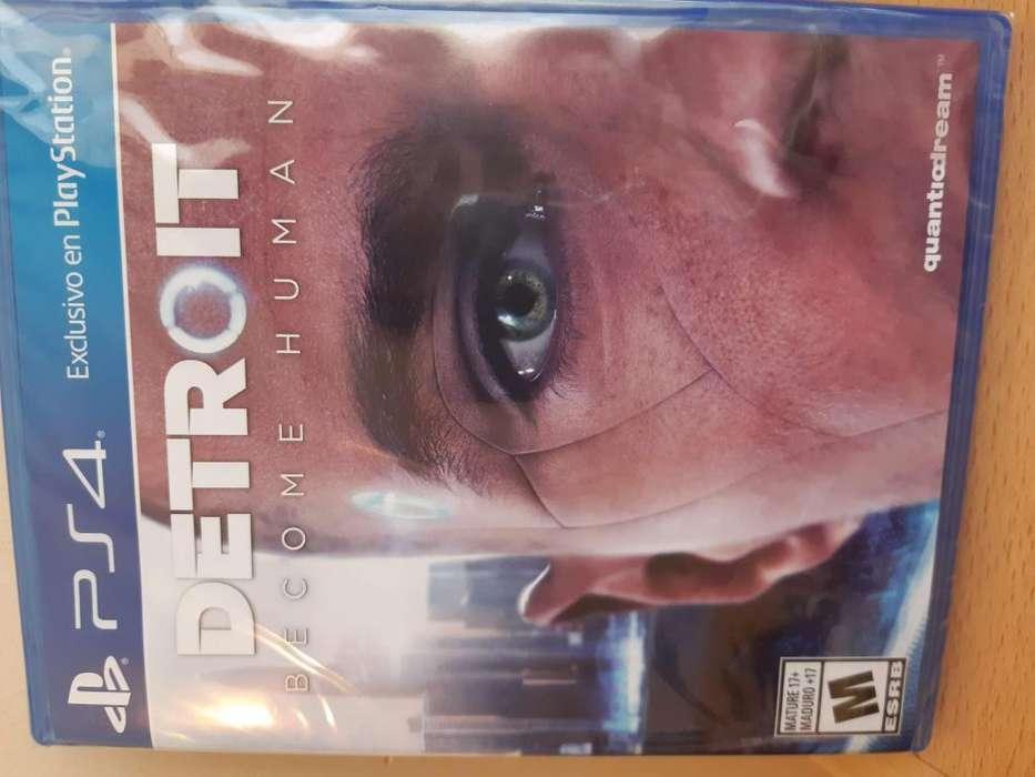 Vendo juego nuevo (sellado) para PS4 - Detroit: Become Human