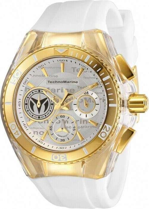 Reloj Mujer Technomarine Cruise Dorado Dial Blanco 118133