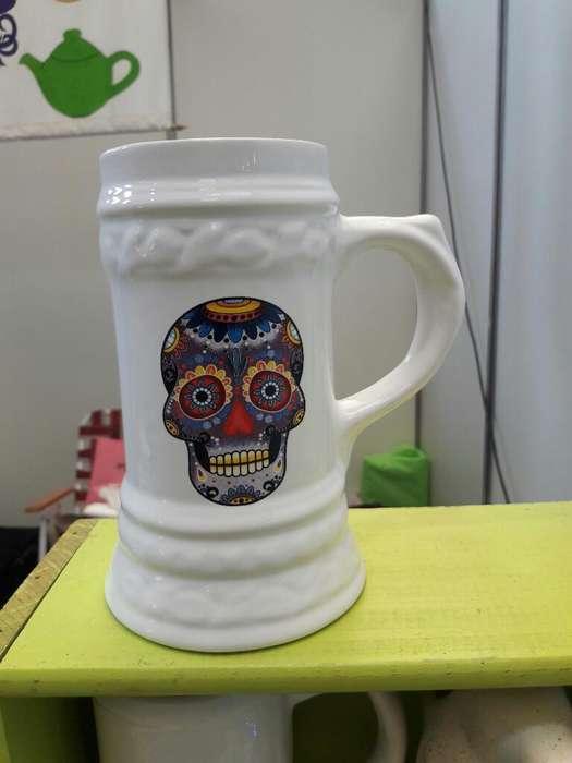 Vendo Jarra Chopera de 1 Ltro Ceramica