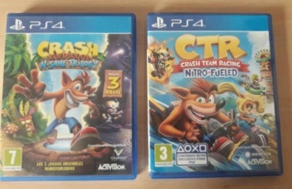 Crash Trilogy Y Ctr Ps4