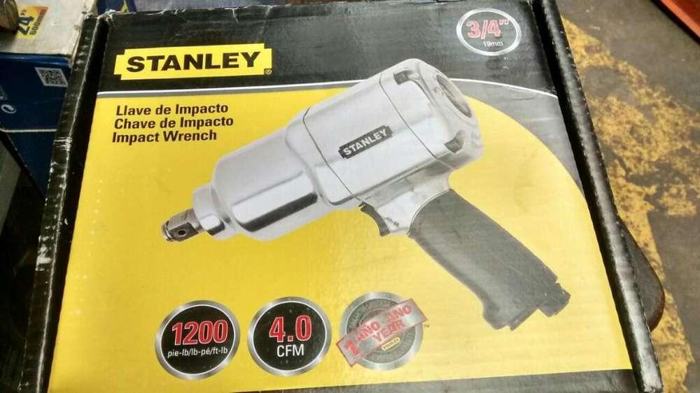 Pistola de Impacto 3/4 Neumatica Stanley