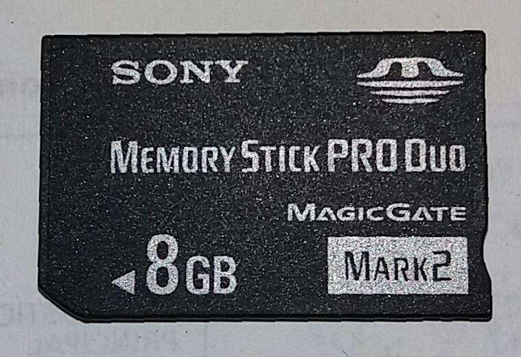 Memoria Sony Stick Duo con adaptador,MSACM2