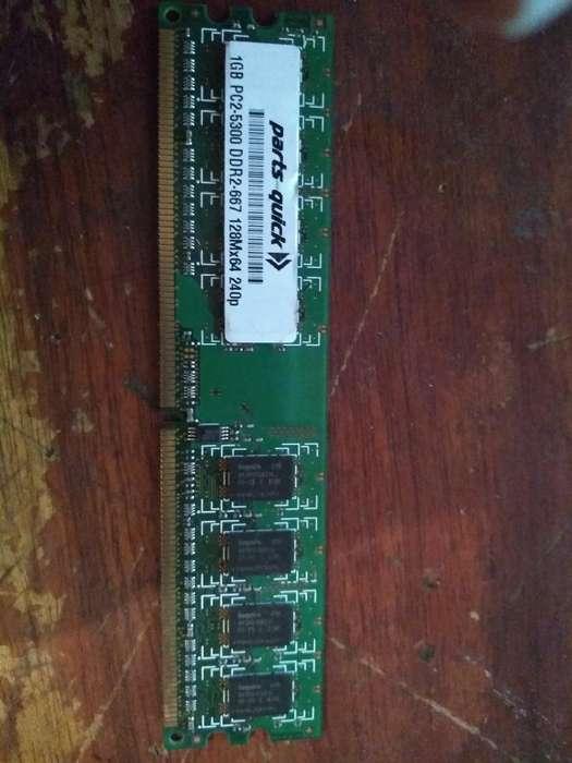 Memoria Ram 1gb para Pc