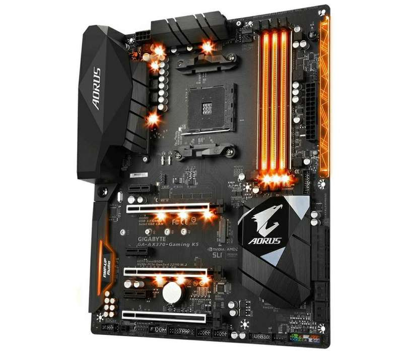 Mother Gigabyte Aourus Am4 Gaming 5