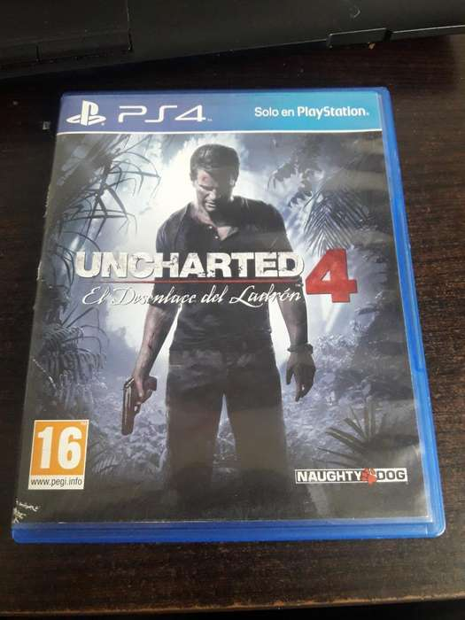 Juego Ps4: Uncharted 4
