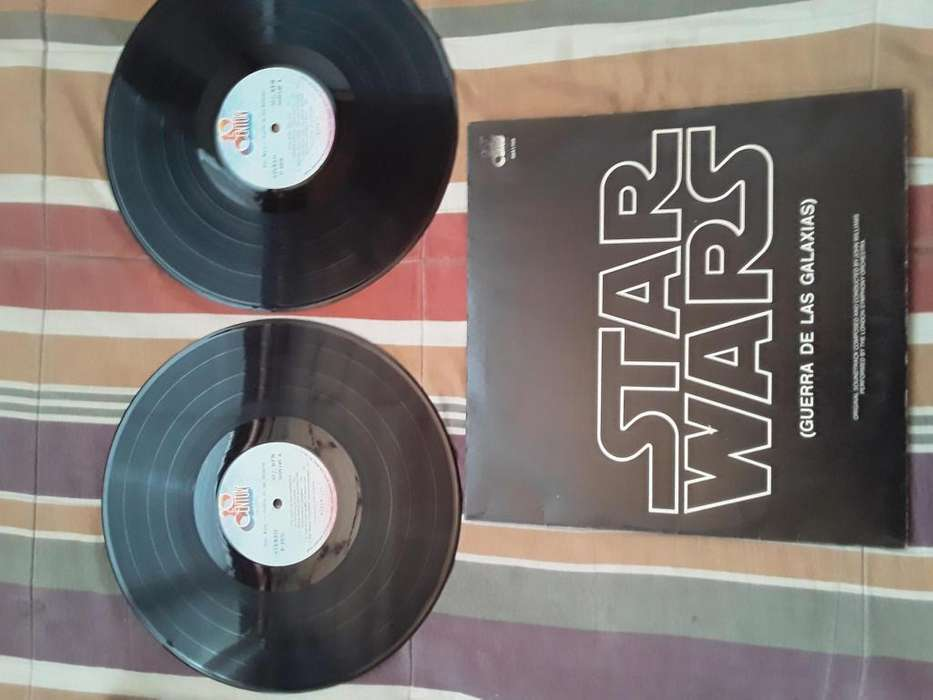 DISCO ACETATO DOBLE STAR WARS 1978