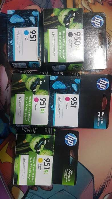 Cartuchos Hp: 950xl, 951, 951xl
