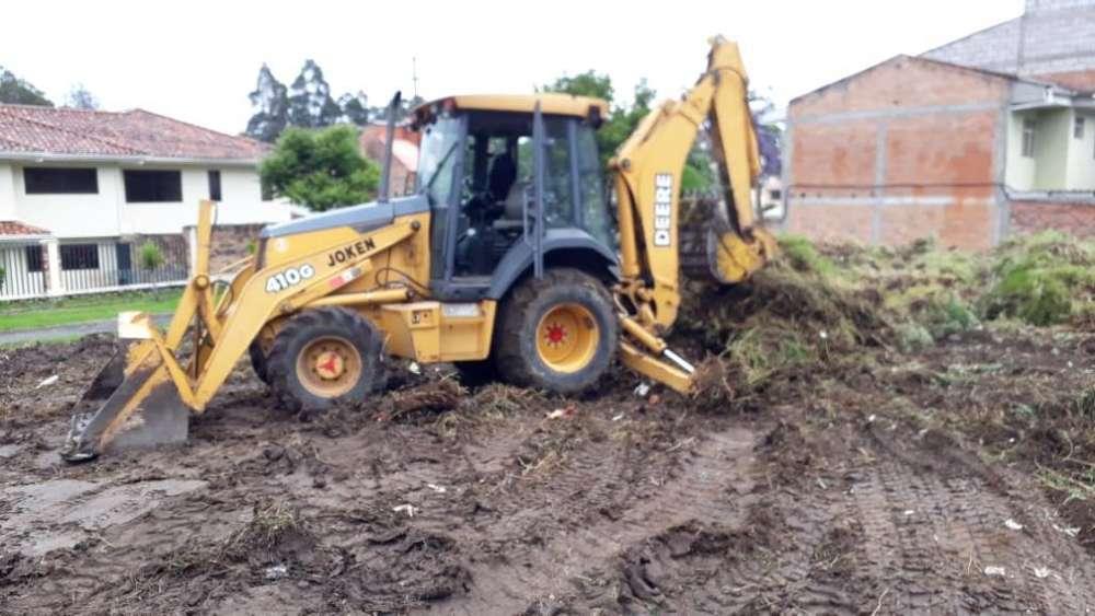 Venta de Retro Excavadora