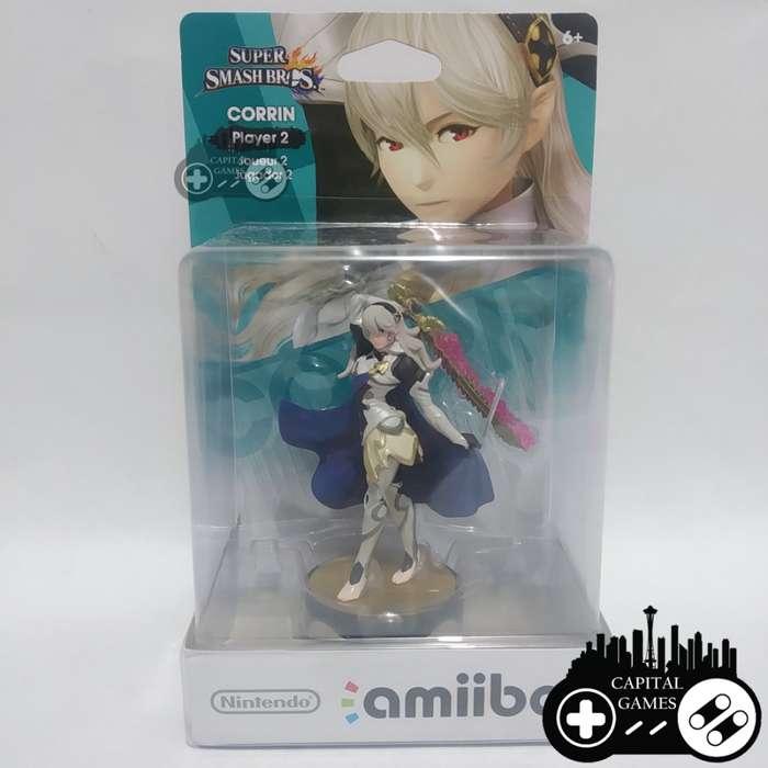 Corrin - Player 2 Super Smash Bros amiibo