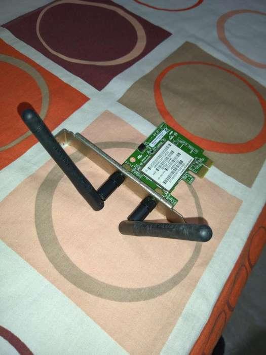 Tarjeta de Red Wifi con Doble Antena
