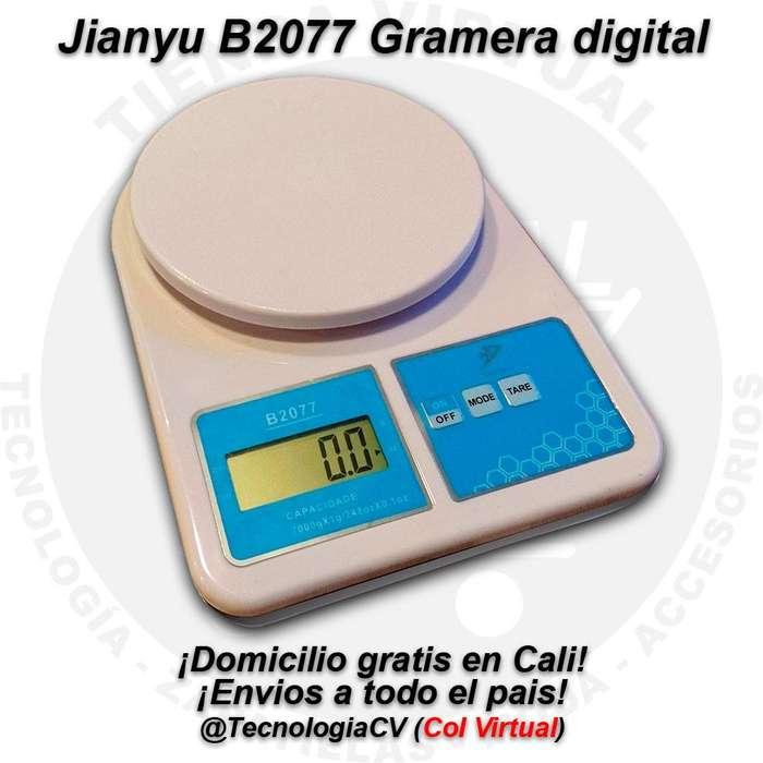 Gramera digital 7000g 11LB Gratis Domicilio Jianyu B2077 3236M0V.C18 R0085 tecnologiacv colvirtual
