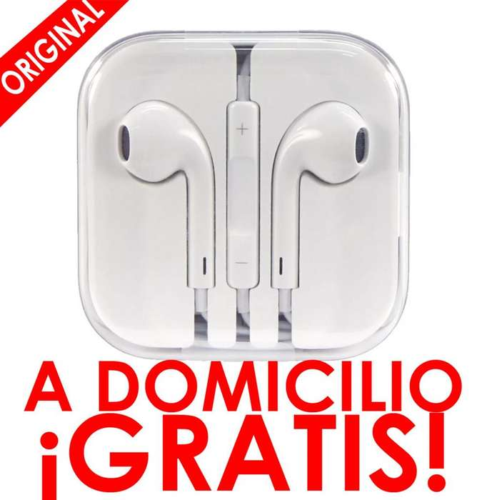 EarPods Apple Originales Audífonos iPhone 4 4s 5 5s 6 6s Nuevos jack 3.5
