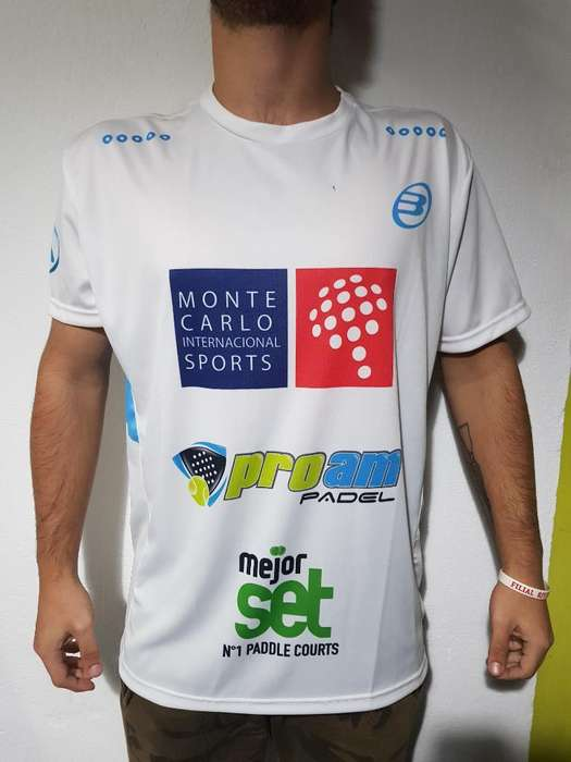 Camiseta Padel Lucho Soliverez Bullpadel