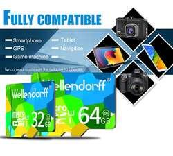 Memoria Micro SD Wellendorff de 32GB Clase 10