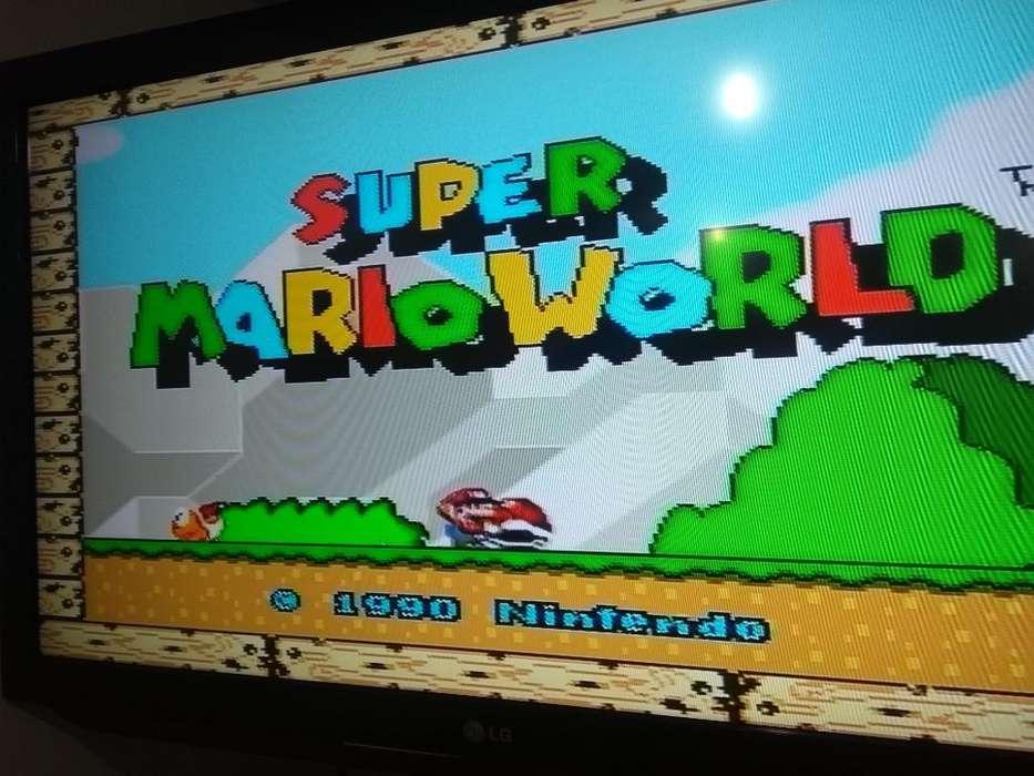 Super Nintendo con Los Mejores Juegos