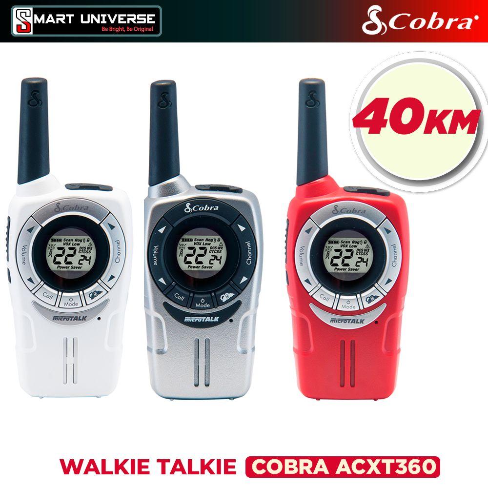 Radio Walkie Talkie Cobra ACXT360 3 Unid Hasta 40KM