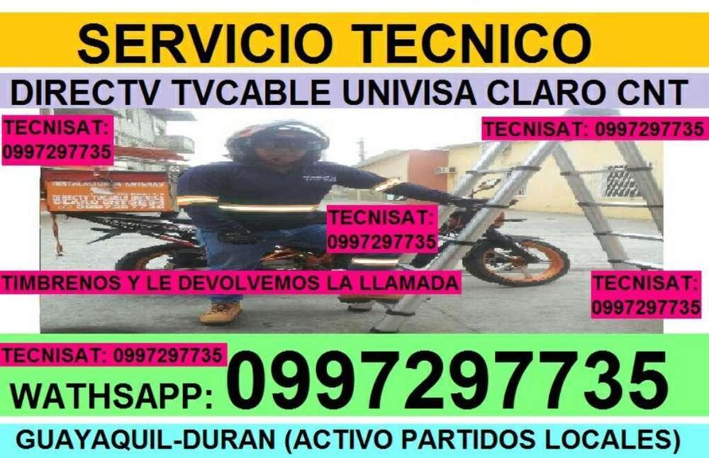 TECNICOS ANTENAS SATELITAL DIRECTV, AMAZONAS TVCABLE INSTALADOR