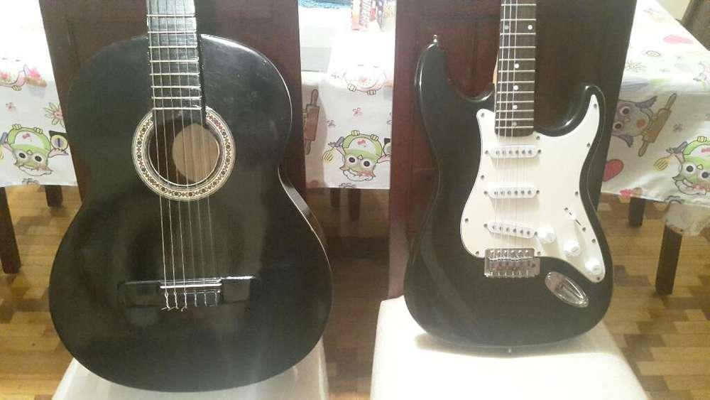 Combo Guitarra Clásica Y Eléctrica