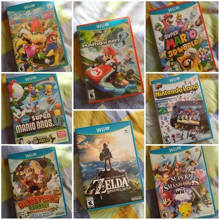 Juegos Wiiu Discos Físicos Wii U
