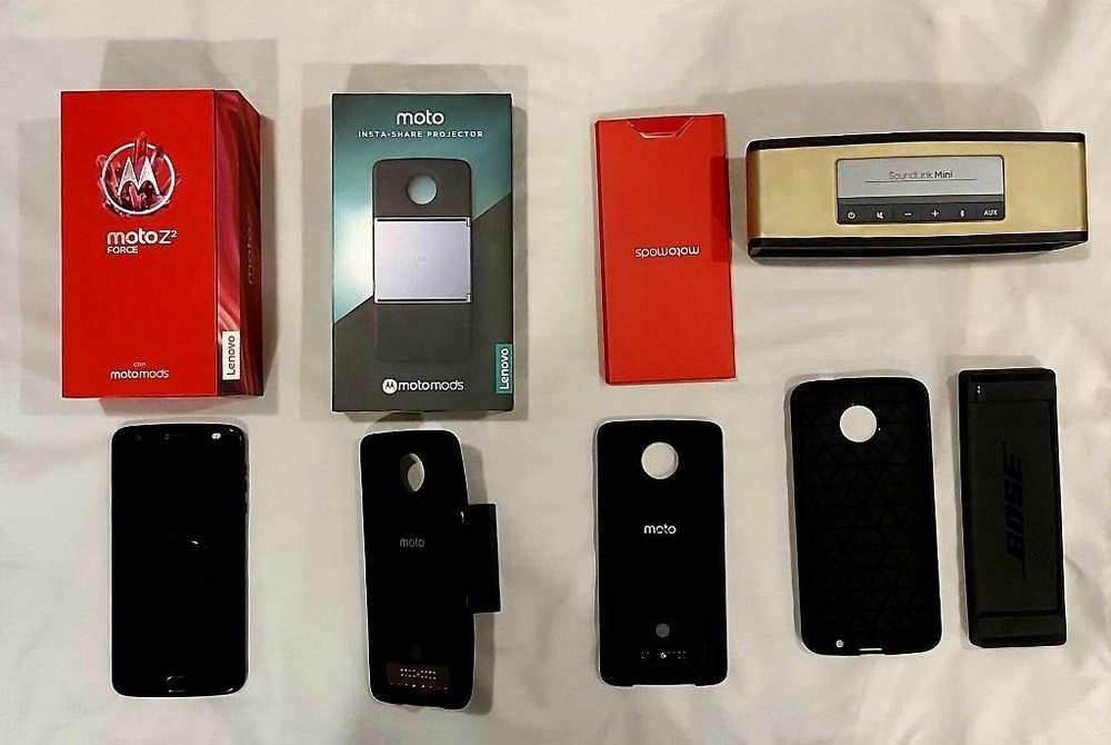 Motorola Z2 Force Espectacular Combo