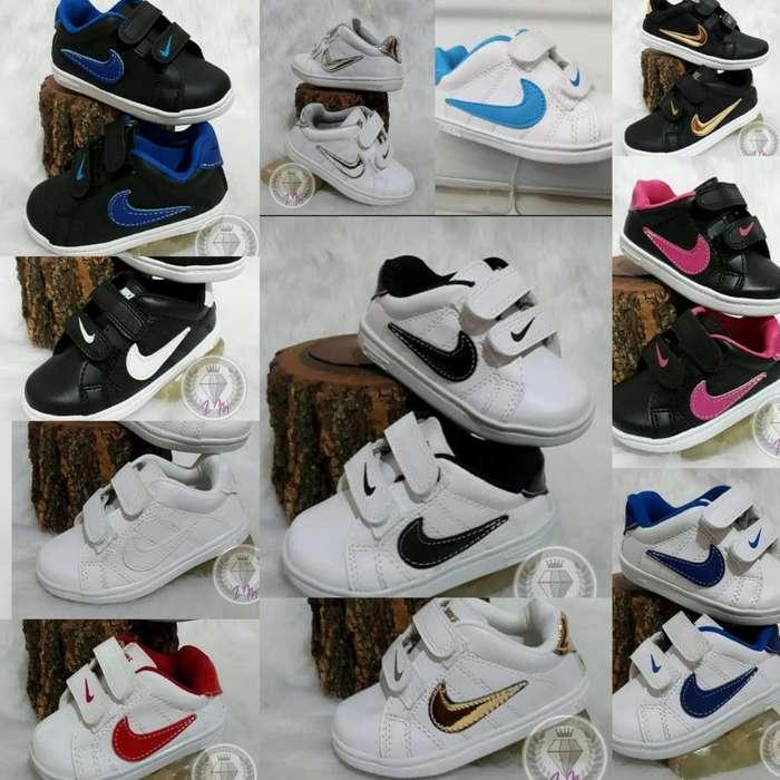 Nike Niño. Del 17 Al 34.