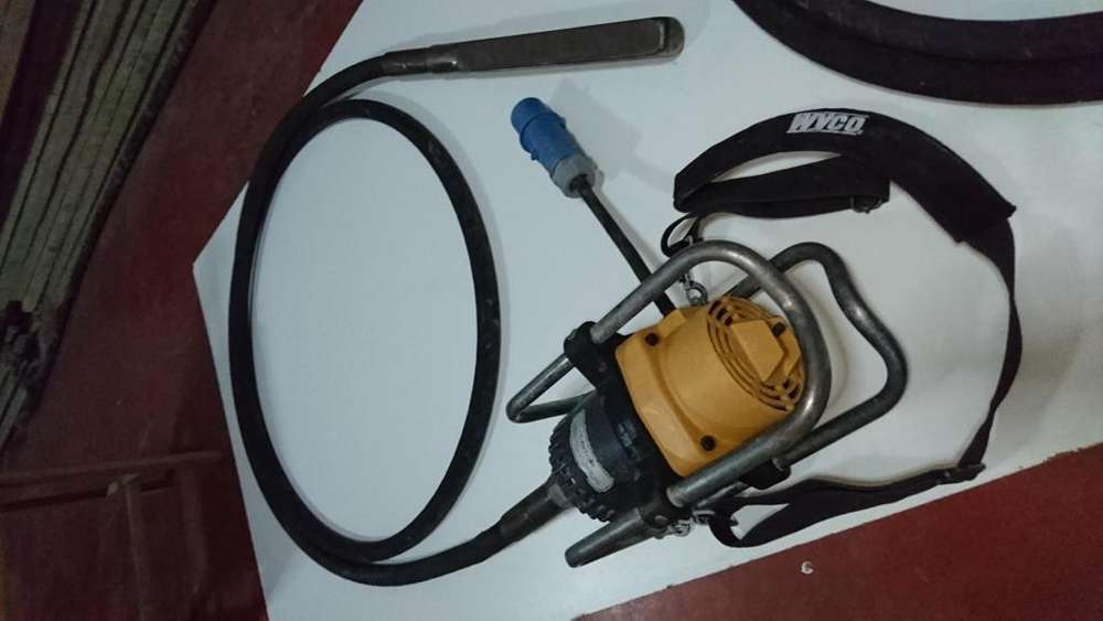 Vibradora Concreto Wyco 2 Cabezales