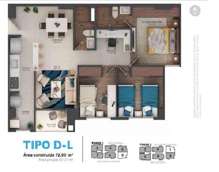 Apartamento Oceana- Cuidad Fabricato
