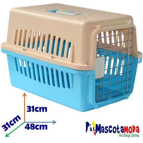 Kennel caja de transporte economico para perros miniatura cachorros y gatos