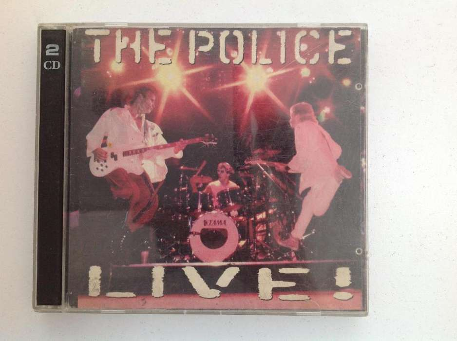 The Police Live Cd Doble Original