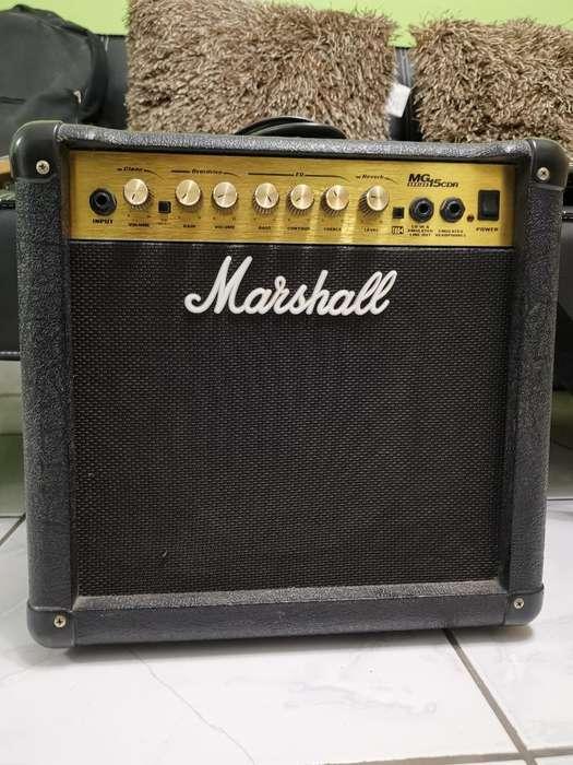 Amplificador Marshall Mg15 Cdr