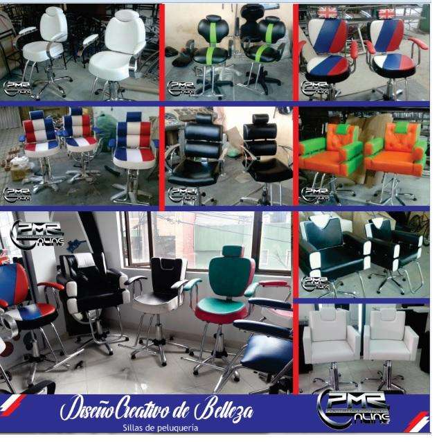 fabrica de muebles <strong>sillas</strong> de corte lavacabezas auxiliar recepcion puff para peluqueria spa barberia