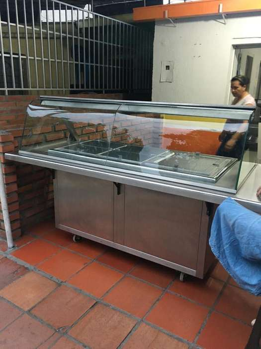 Baño de Maria Exhibidor para Pollo Asado