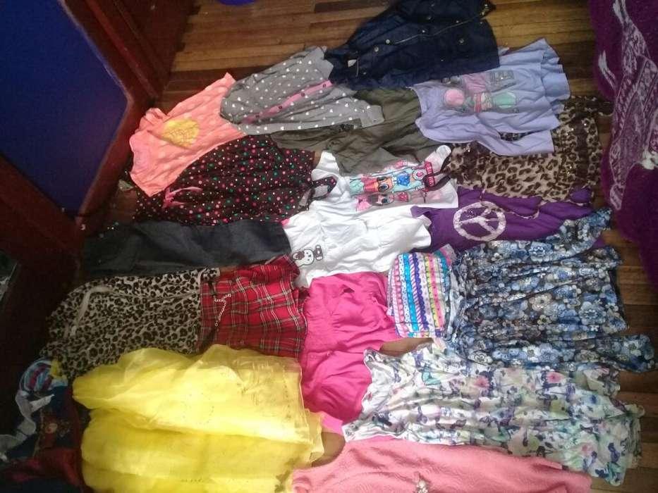 Lote <strong>ropa</strong> Niña 5 a 6 Años