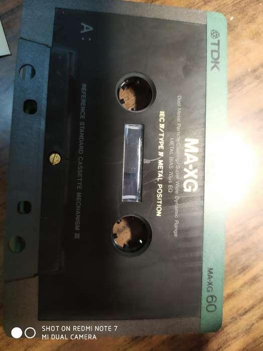 Cassette Tdk Maxg