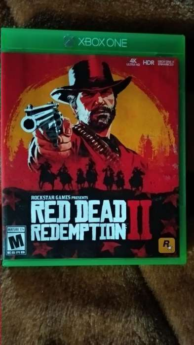Red Dead Redemption 2 Xbox One Inmaculad