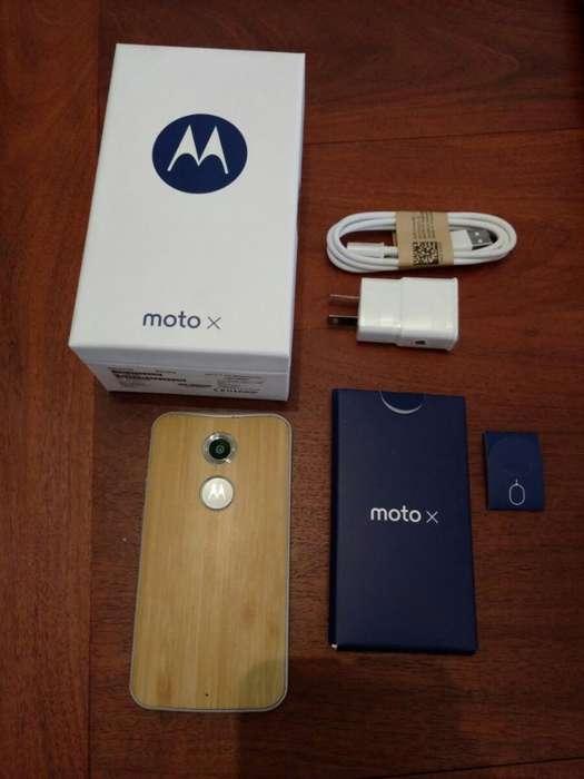 Motorola Moto X Segunda Generacion Bambú