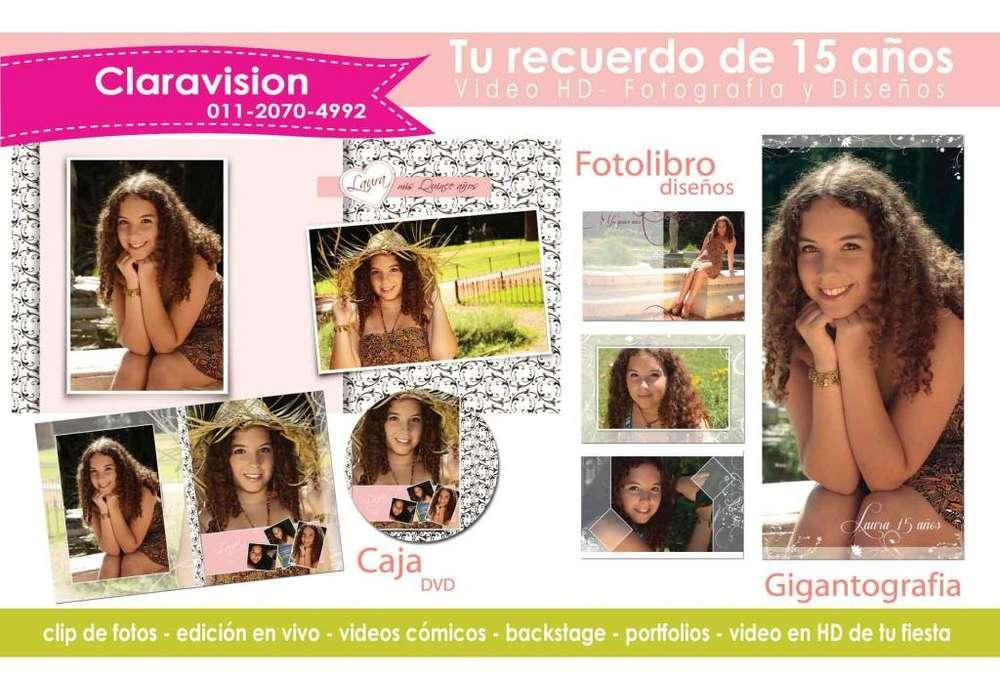 Claravision Fotografia y video HD para eventos sociales