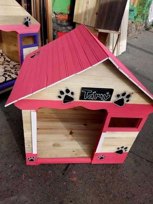 casas para <strong>perro</strong> en madera
