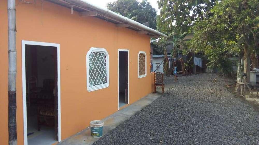 Se alquila hermosa casa en tonsupa a 5 min de la playa