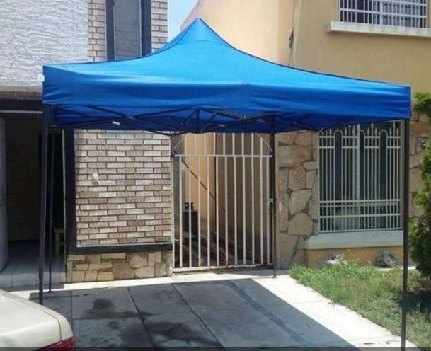 CANOPIS 3X3MTS TIPO ACORDION, IMPERMEABLES 130 NUEVOS