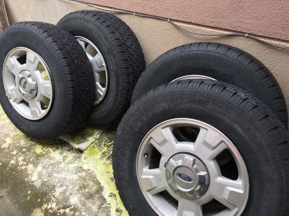 <strong>llanta</strong>s y aros originales Ford F 150 2012